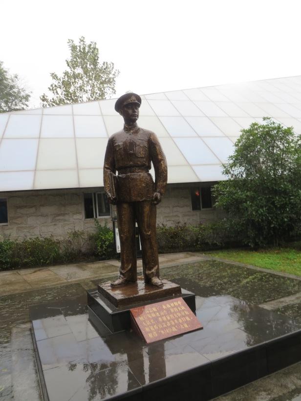 照片十七 南京抗日航空烈士紀念館中的高志航像